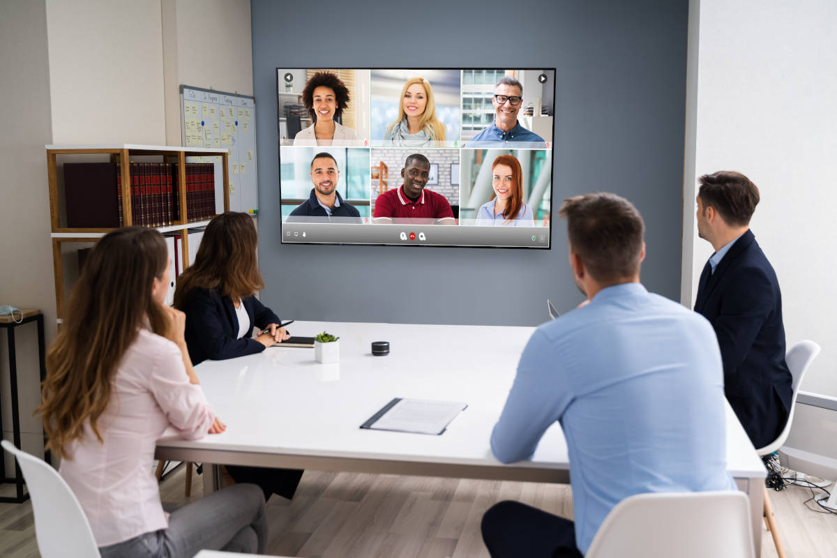 Videokonferenzen mit BinaStar Meet