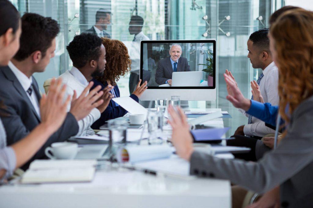 Videokonferenzen für Unternehmen
