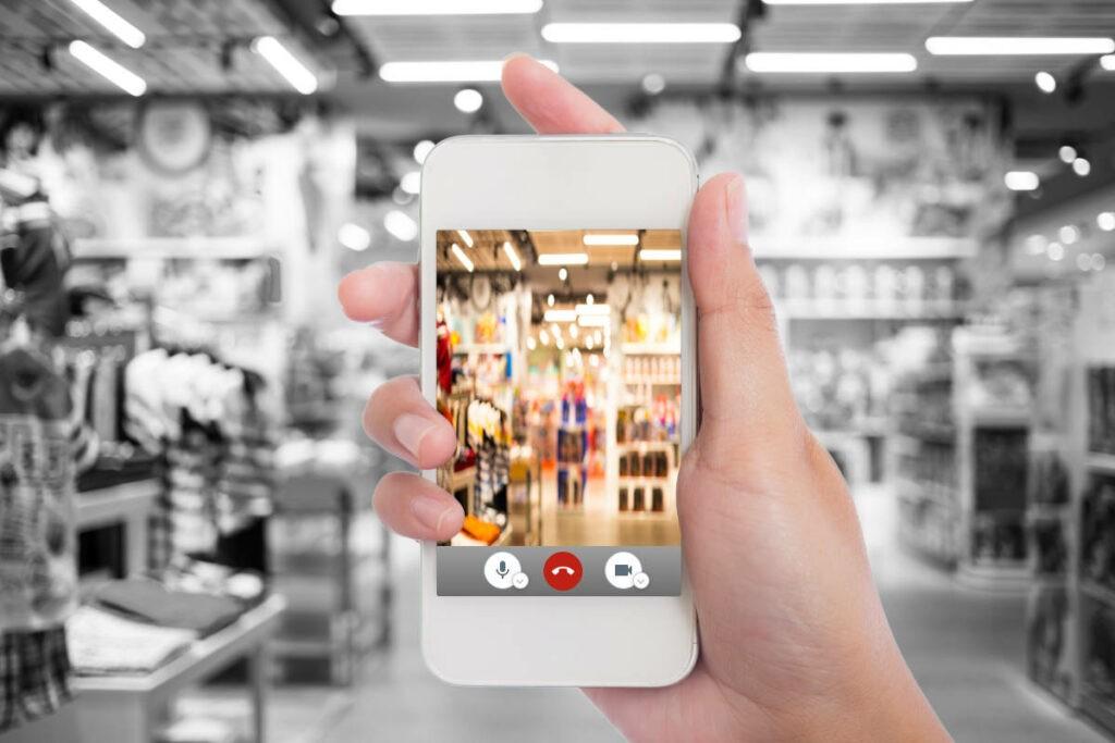 Video & Collect im Einzelhandel