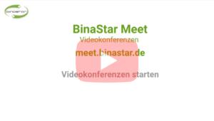 BinaStar Meet - Videokonferenzen starten